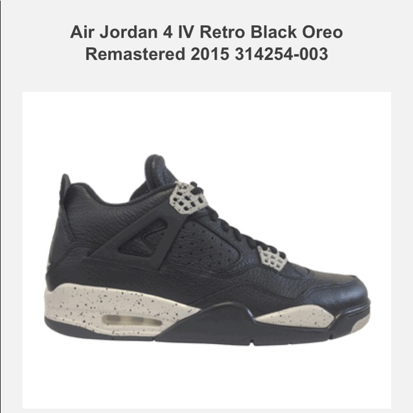outlet store c340e 4b73a ... promo code for used air jordan 4 retro oreo size 9.5 464c5 96035